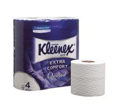 Kleenex® Toilettenpapier - Kleinrollen 4-lagig